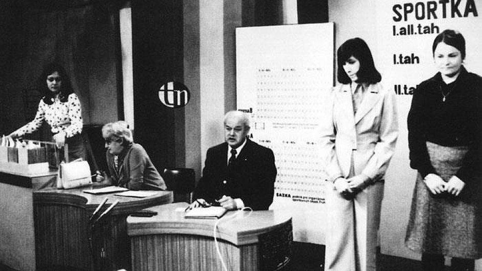Losování Sazky v roce 1965
