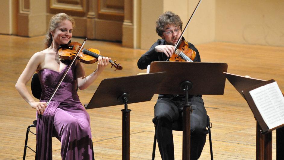 Julia Fischer na Pražském jaru vystoupila i se svým kvartetem.