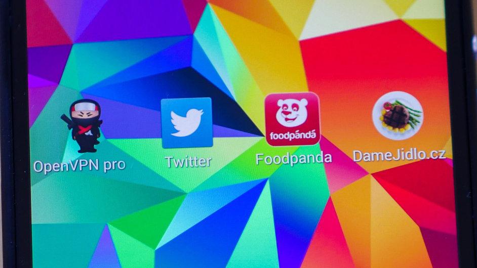 Twitter Foodpanda mobilni aplikace