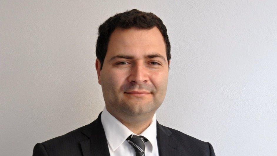 Ondřej Straširybka, konzultant v oblasti kancelářských nemovitostí společnosti 108 AGENCY