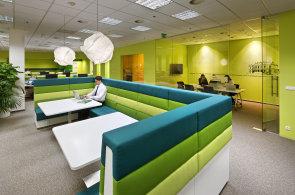 Moderní kancelářské interiéry