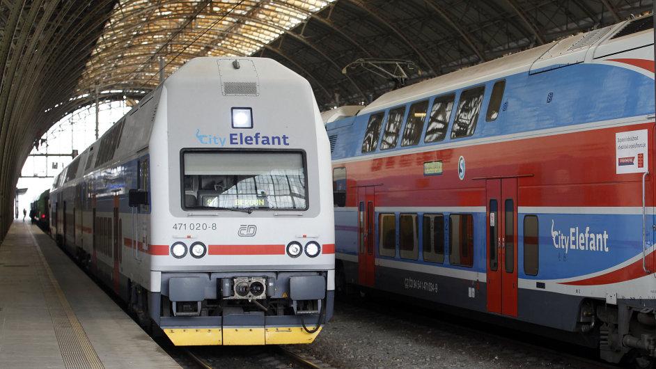 Příměstský vlak City Elefant.