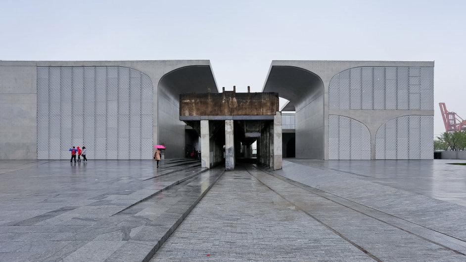 Nová umělecká galerie Long Museum West Bund v Šanghaji
