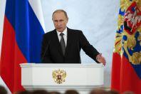 Vladimir Putin p�i projevu o stavu Ruské federace