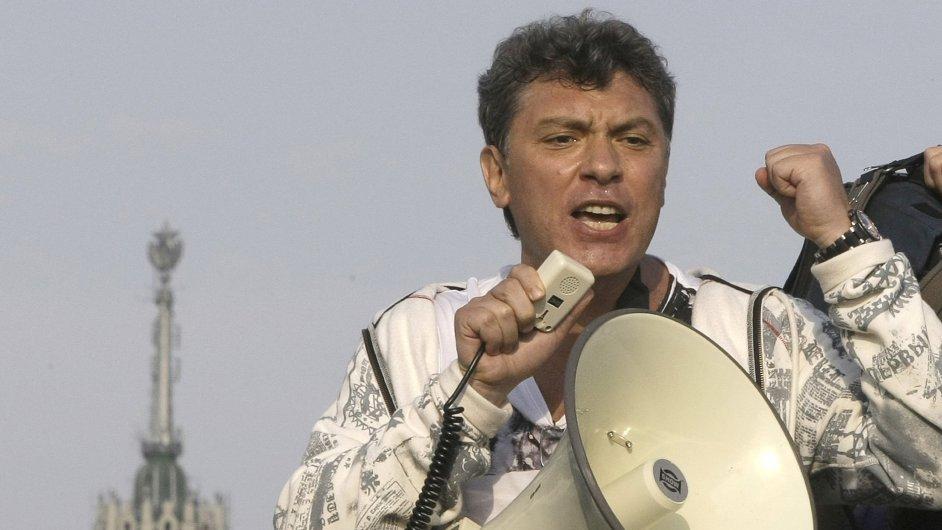 Ruská kontrarozvědka zatkla dva muže v souvislosti s vraždou politika Borise Němcova.