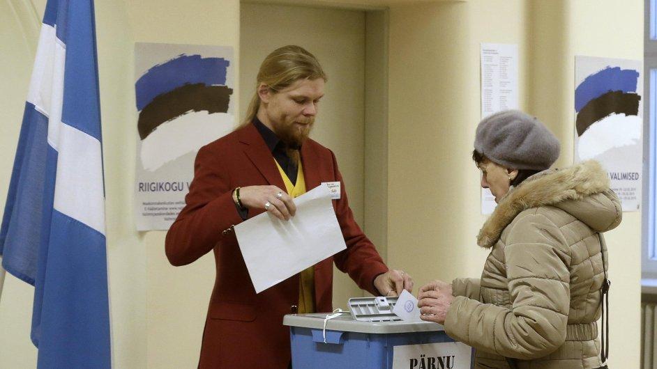 Estonské parlamentní volby.