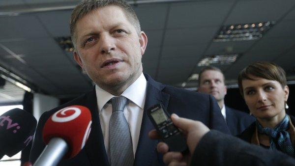 Vítěz slovenských voleb Robert Fico.