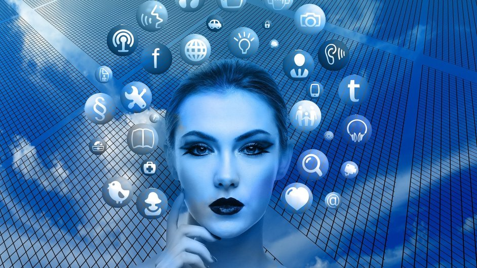 Internet věcí, IoT, ilustrace