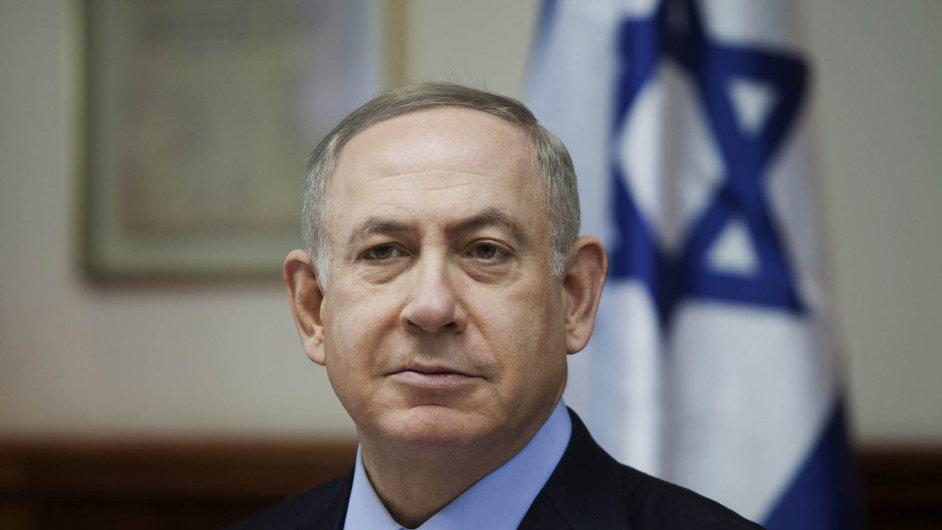 """""""Všechna obvinění jsou nepodložená apoliticky motivovaná,"""" tvrdí izraelský premiér Benjamin Netanjahu."""