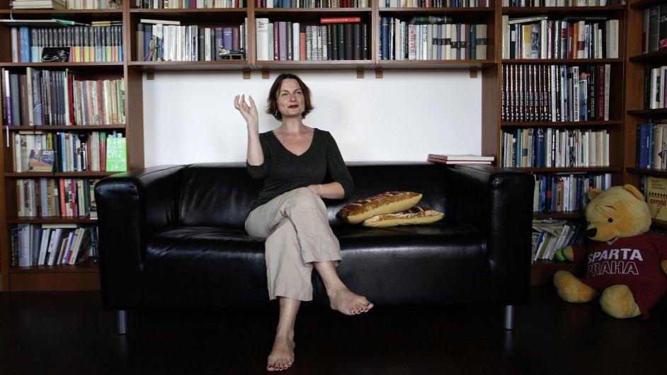 Radka Denemarková letos vydala román Kobold