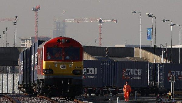 Do Británie dorazil přímý vlak z Číny