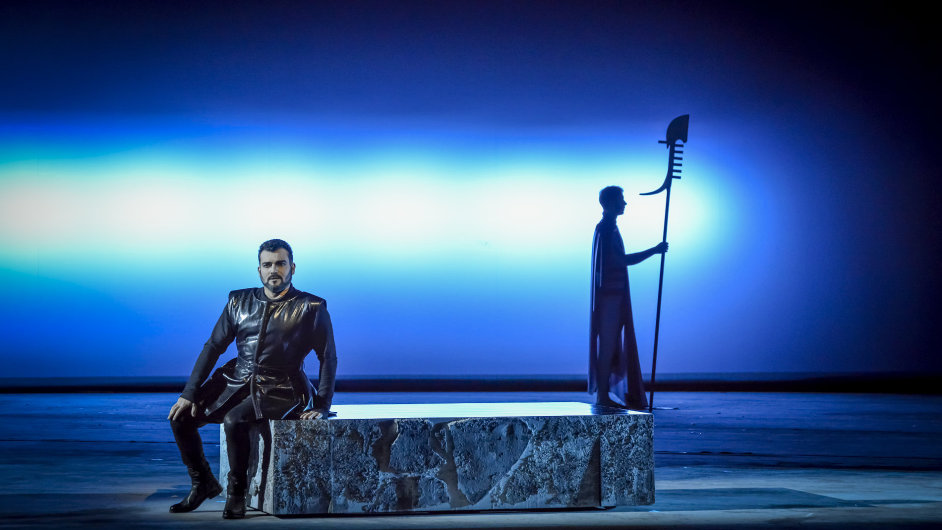 Snímek ze zkoušek brněnské inscenace opery La Gioconda.