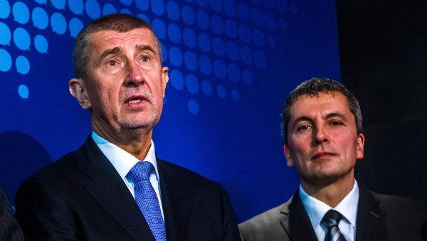 Petra Morcinka seznámil šéf ANO Andrej Babiš s členy hnutí před pár týdny.