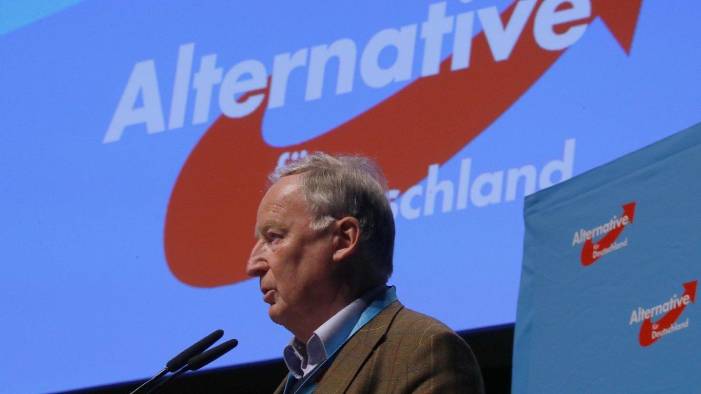 AfD, alternativa pro německo, Alexander Gauland