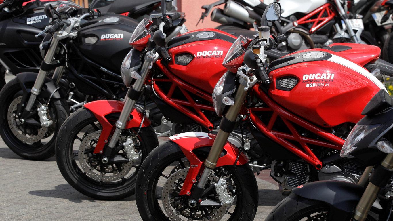 Harley-Davidson chce koupit značku Ducati od koncernu Volkswagen. – Ilustrační foto