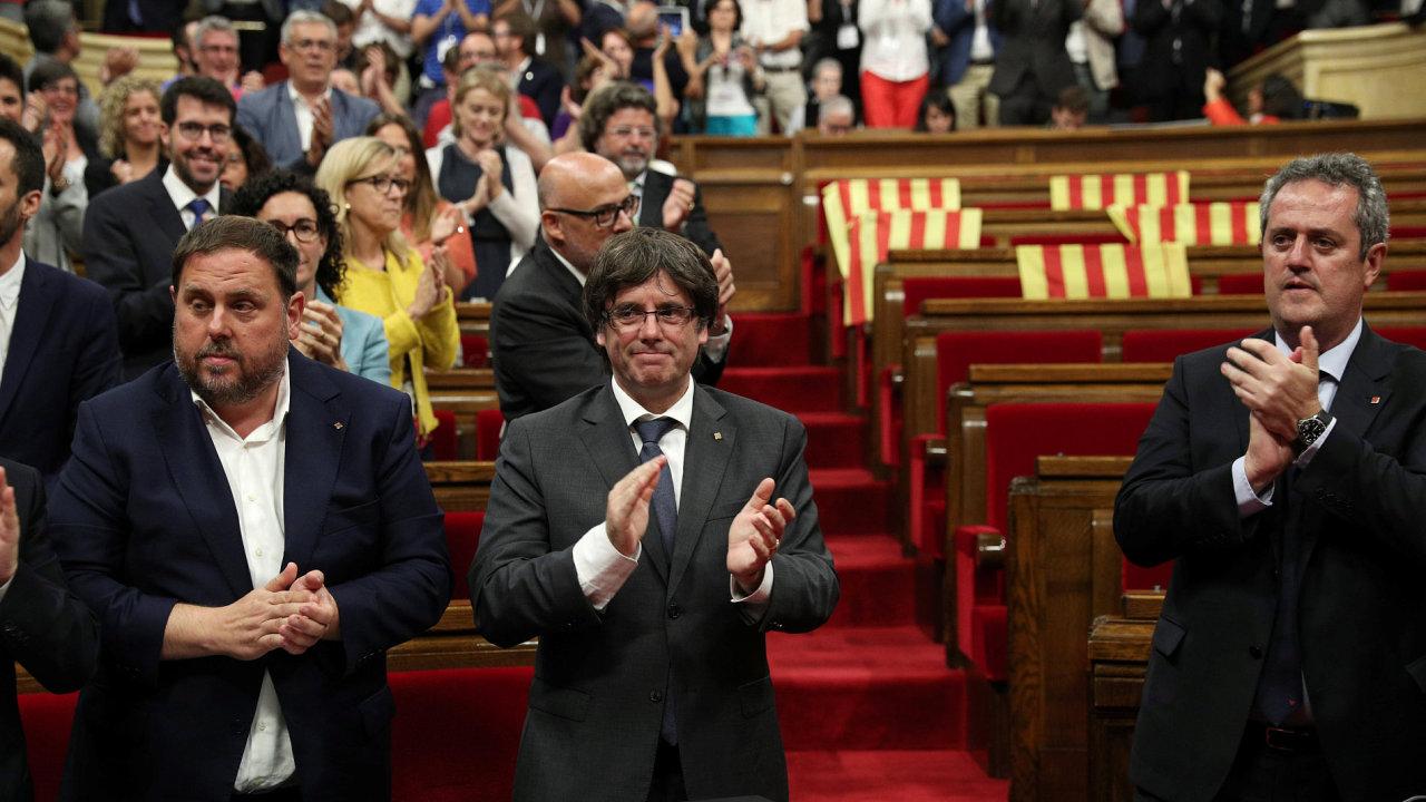 Katalánsko, katalánský premiér Carles Puigdemont