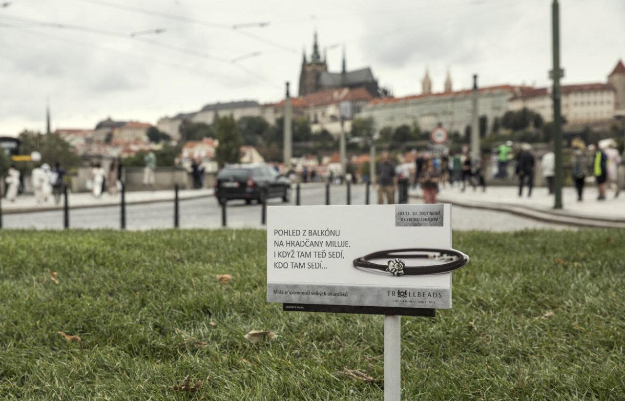 Miniaturní kampaň na dánské šperky Trollbeads