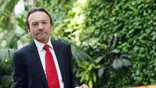 David Rozumek, poradce Mezinárodního měnového fondu pro Bosnu a Hercegovinu.