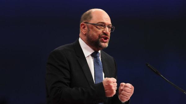 Předseda SPD Martin Schulz vyzývá k vytvoření evropské federace.