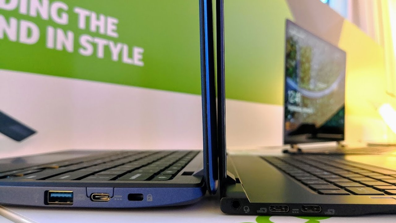 Acer Chromebook 11 vs Swift 7 druhé generace