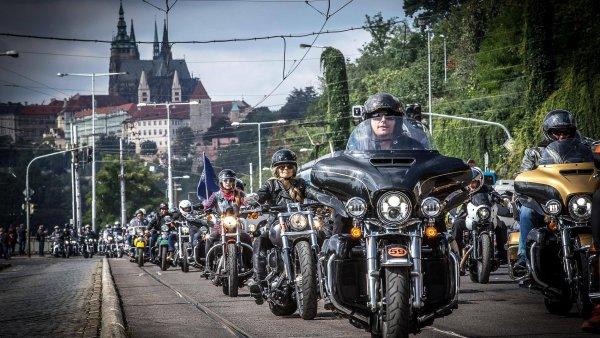 115. výročí Harley-Davidson v Praze