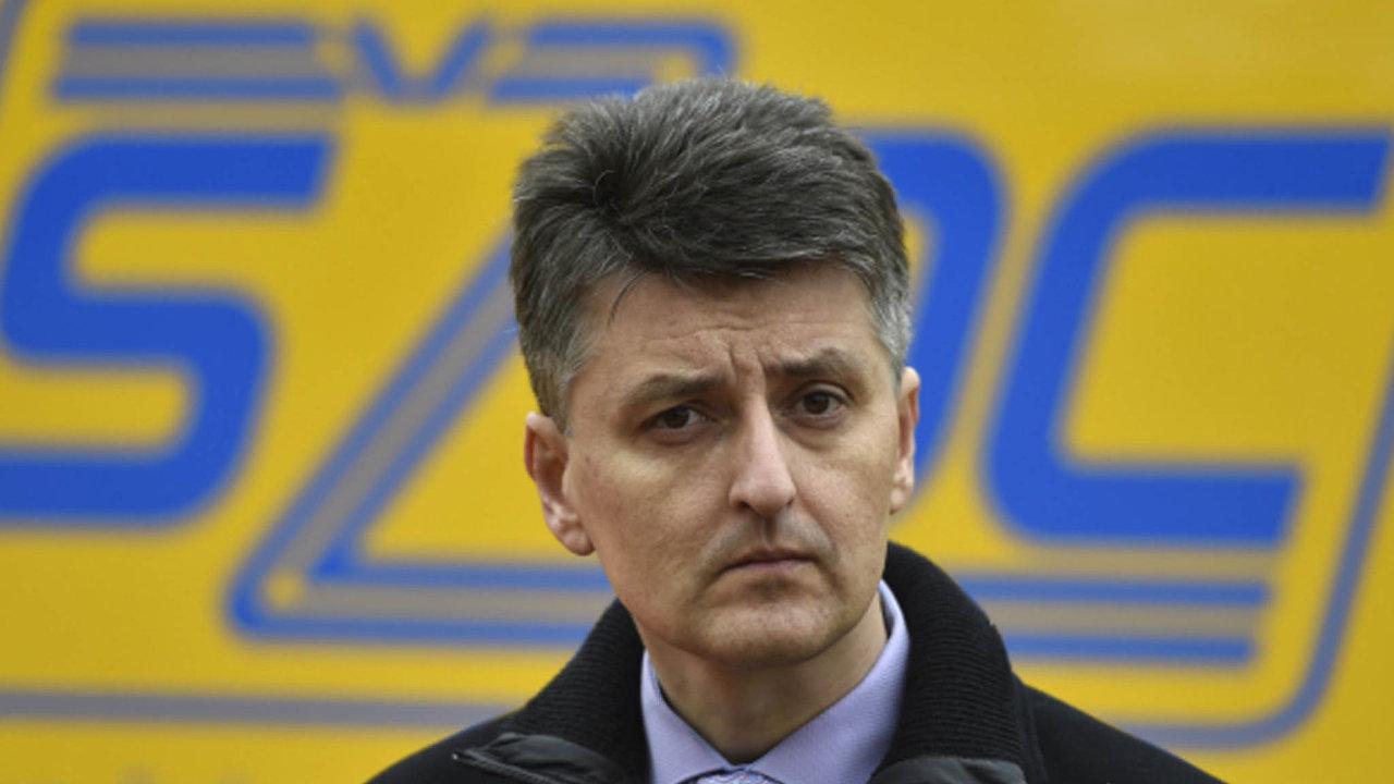 Generální ředitelem SŽDC Jiří Svoboda.