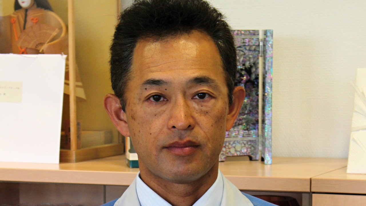 Yasuto Hiraoka, výkonný ředitel společnosti Daikin v Plzni