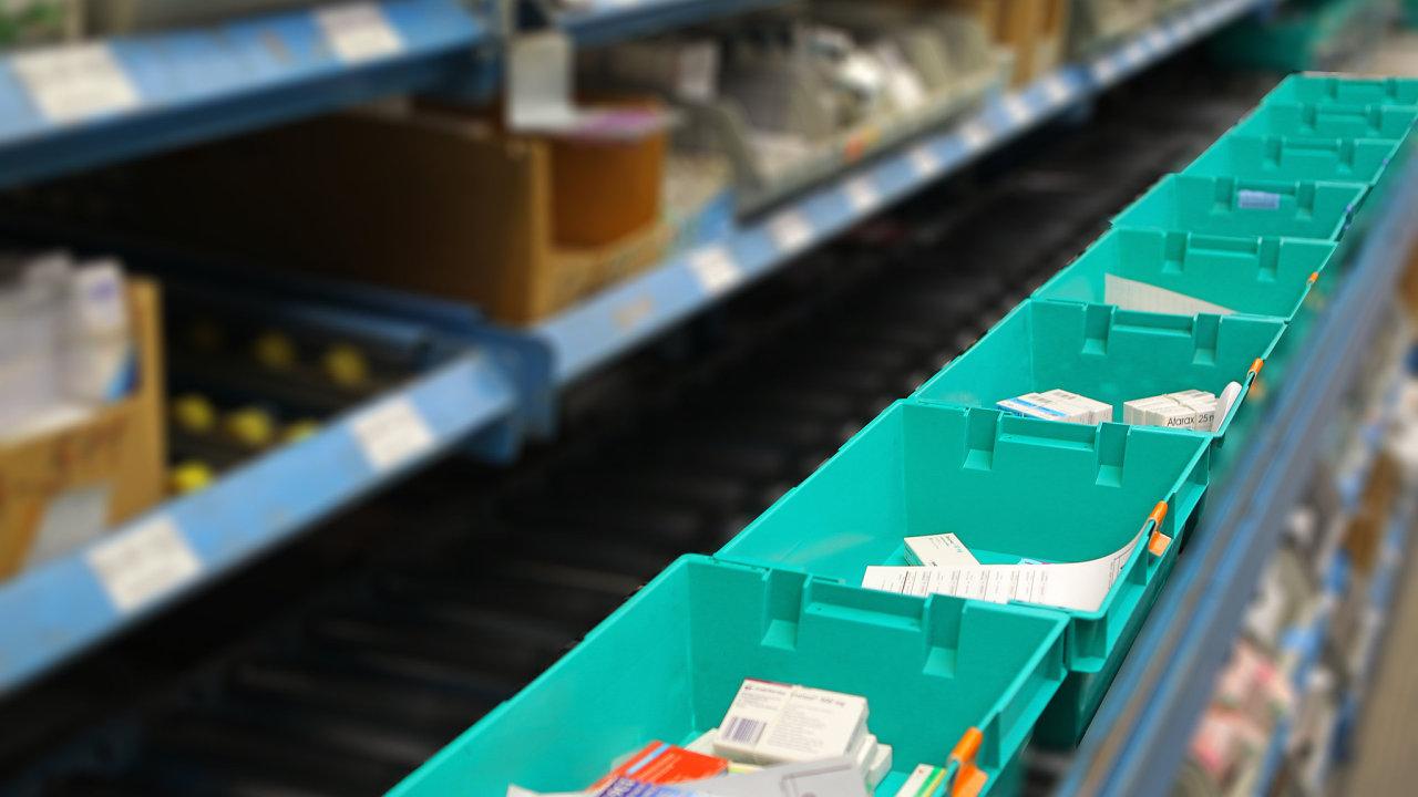 Lékárenský velkoobchod Phoenix se stěhuje do nového výrobního a logistického centra v CTParku Brno (ilustrační)