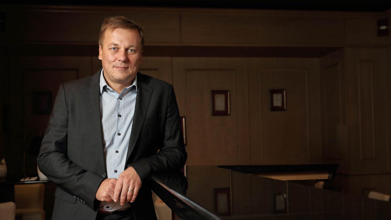 Martin Štrupl, prokurista a generální ředitel společnosti Hamé.