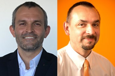 Daniel Zeman a Martin Dlouhý na ředitelským pozicích ve společnosti Renishaw