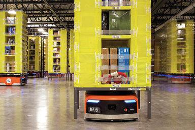 Roboti Kiva zastanou práci rychleji a zaberou i méně místa.
