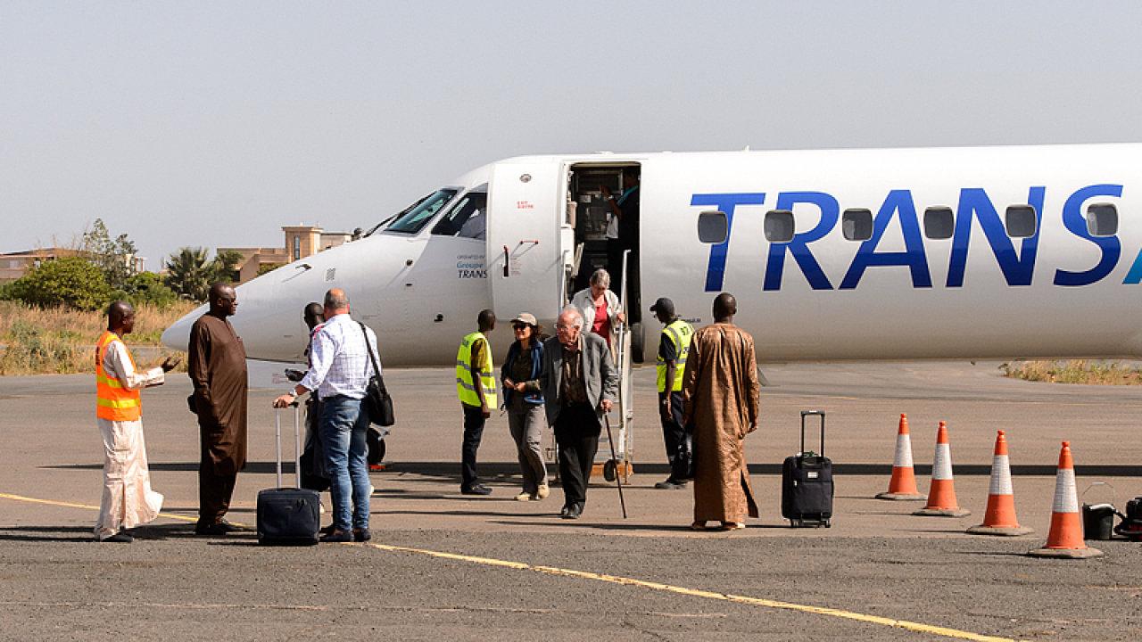 letiště, Senegal