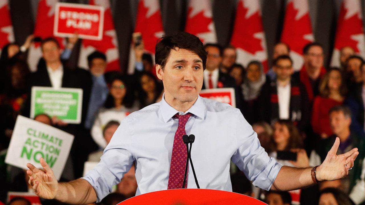 Potíže populárního kanadského premiéra Justina Trudeaua se točily například kolem stavební astrojírenské společnosti SNC-Lavin. Tamní úřady ji vyšetřují pro podezření zkorupce.