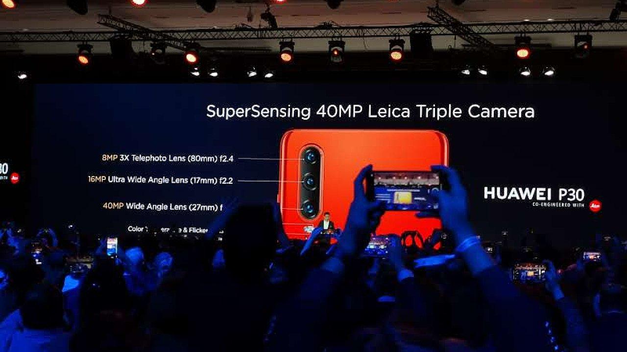 Nový telefon Huawei P30 znovu posouvá svět mobilní fotografie.