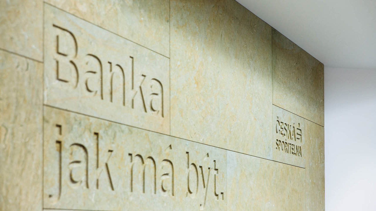 Čerstvé hospodářské výsledky zveřejnila i česká spořitelna.