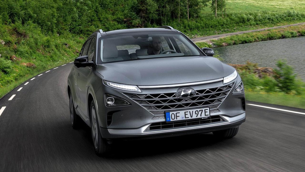 Hyundai Nexo má dojezd až 666 km. Jde o SUV s vodíkovým palivovým článkem.
