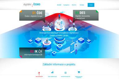 Mnohoslibný web. Nastránkách DigitálníČesko.cz je možné se dočíst leccos otom, co všechno se stane, nebo si rozkliknout PDF publikaci Digitální Česko vdigitální Evropě o170 stranách.