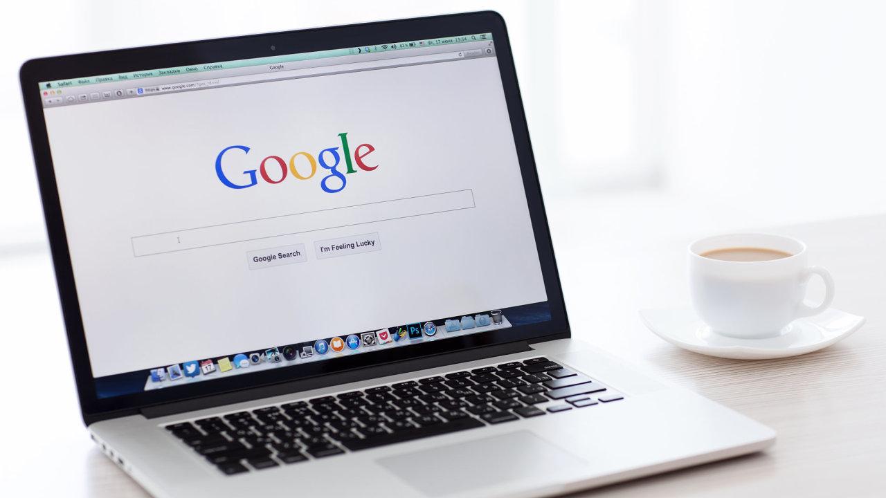 Google poskytne mediálním skupinám 150 milionů eur (ilustrační foto).