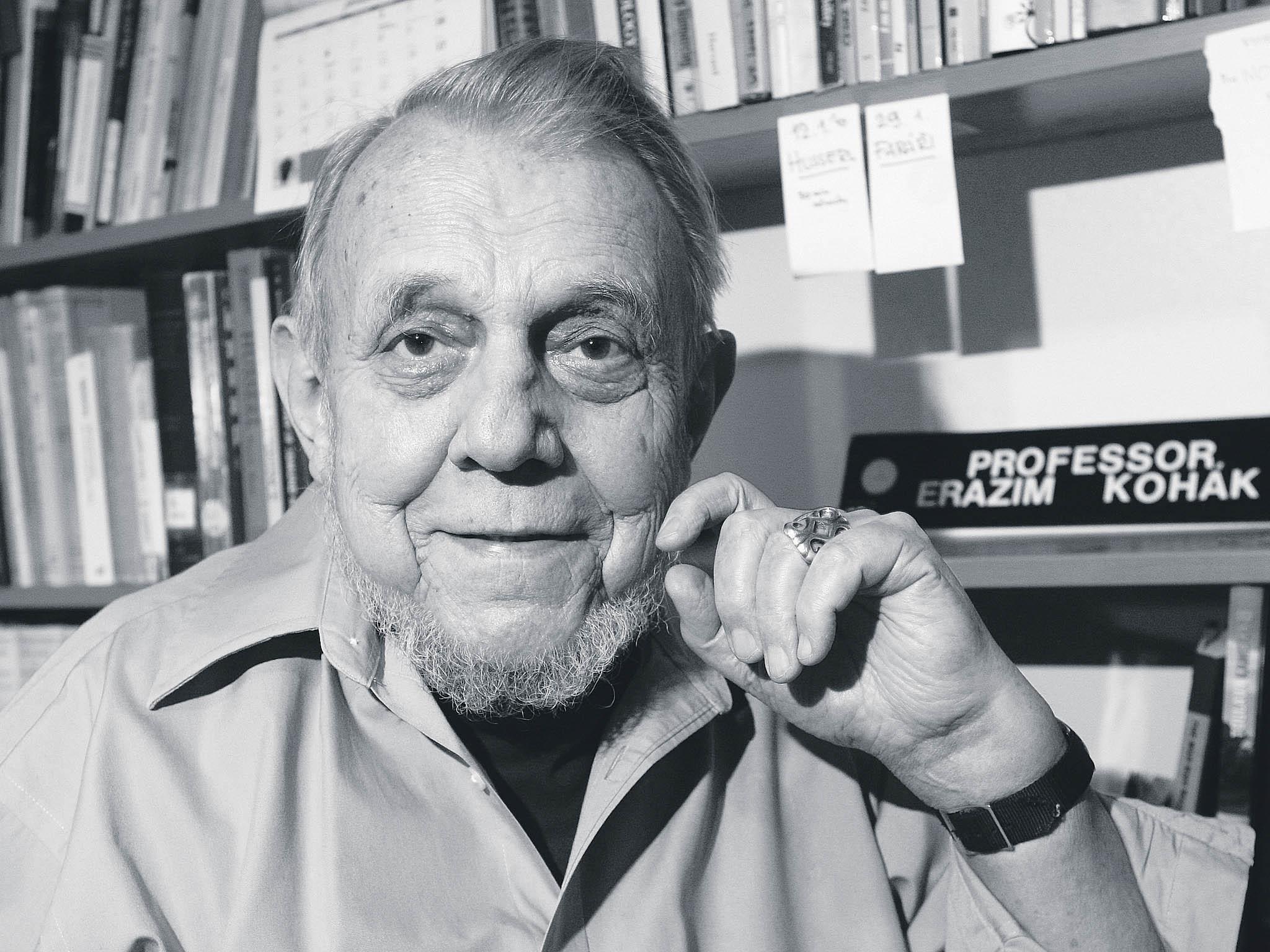 V sobotu zemřel významný filozof Erazim Kohák, bylo mu 86 let.