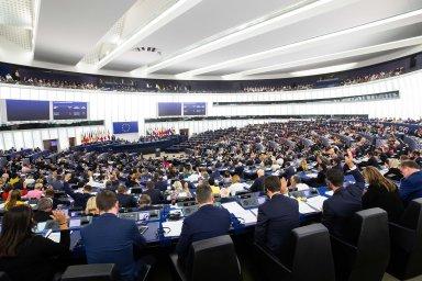 V září Evropský parlament přijal rezoluci, iniciovanou Poláky a Litevci, která obvinila Rusko z překrucování historických faktů.