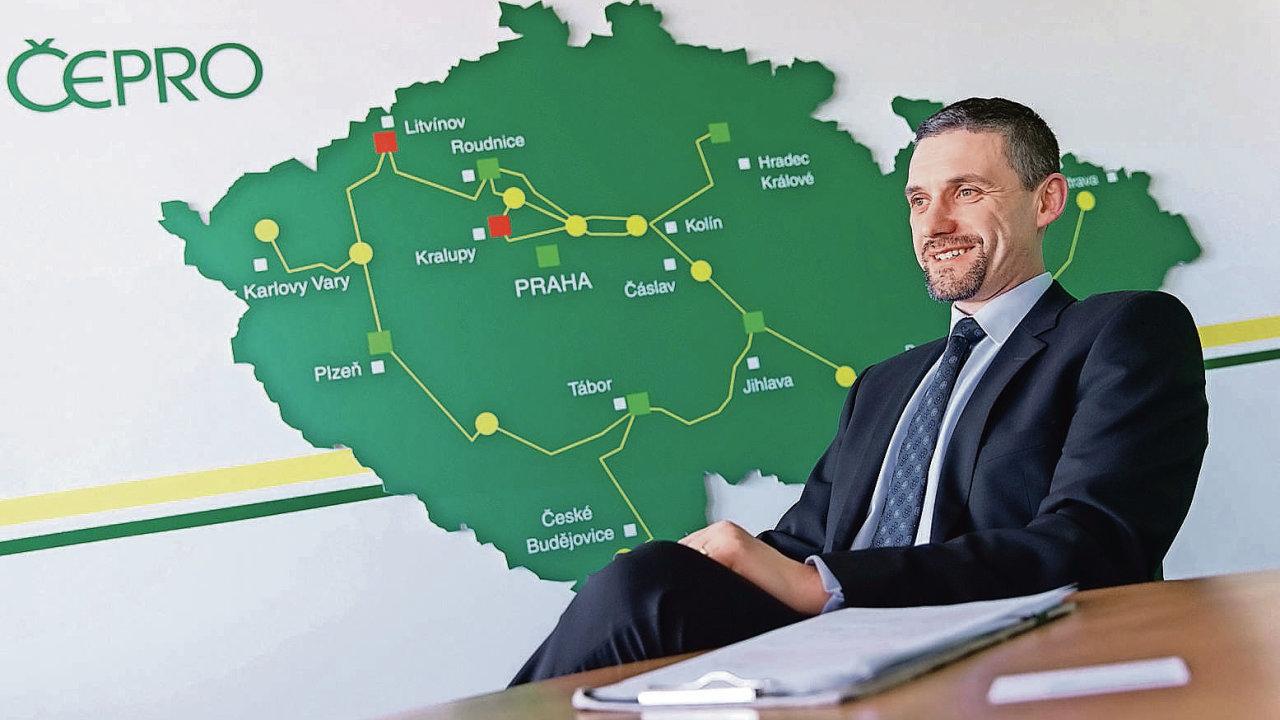 Ředitel Čepro Jan Duspěva