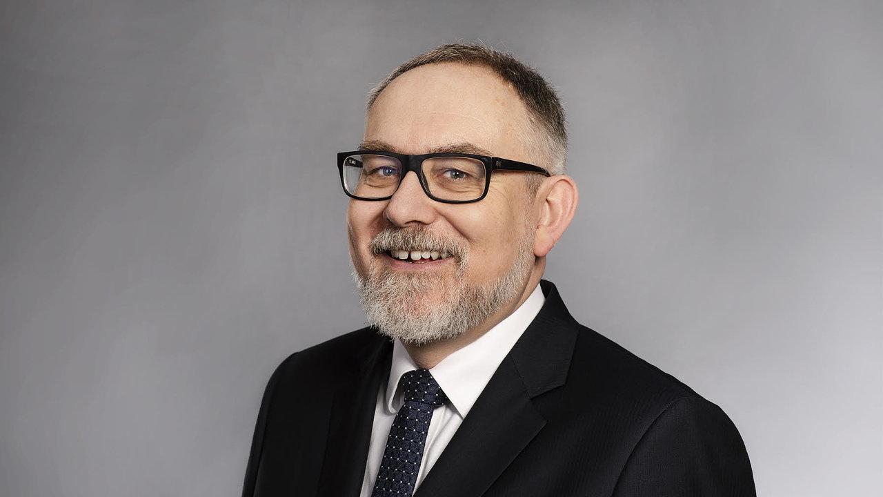 Lubor Žalman, bývalý ředitel Raiffeisenbank a partner EnCor Wealth Management.