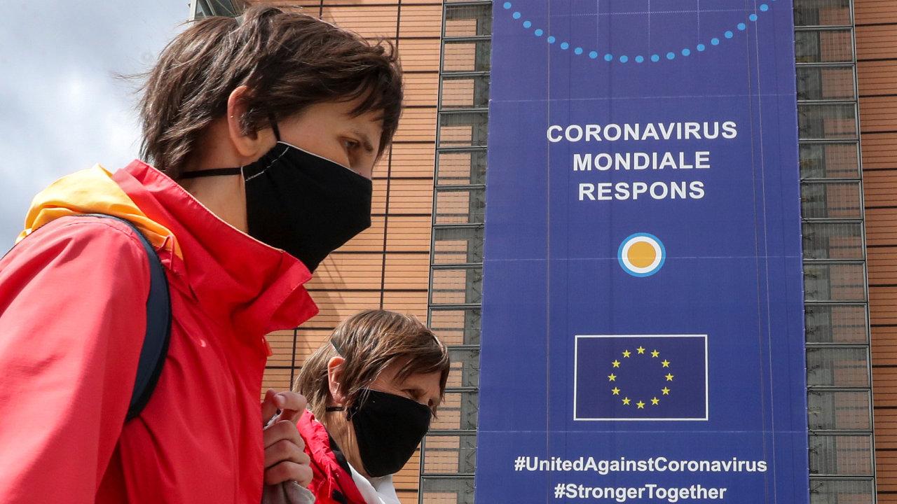 Koronavirus, Evropská komise, Evropská unie, Evropa, Covid