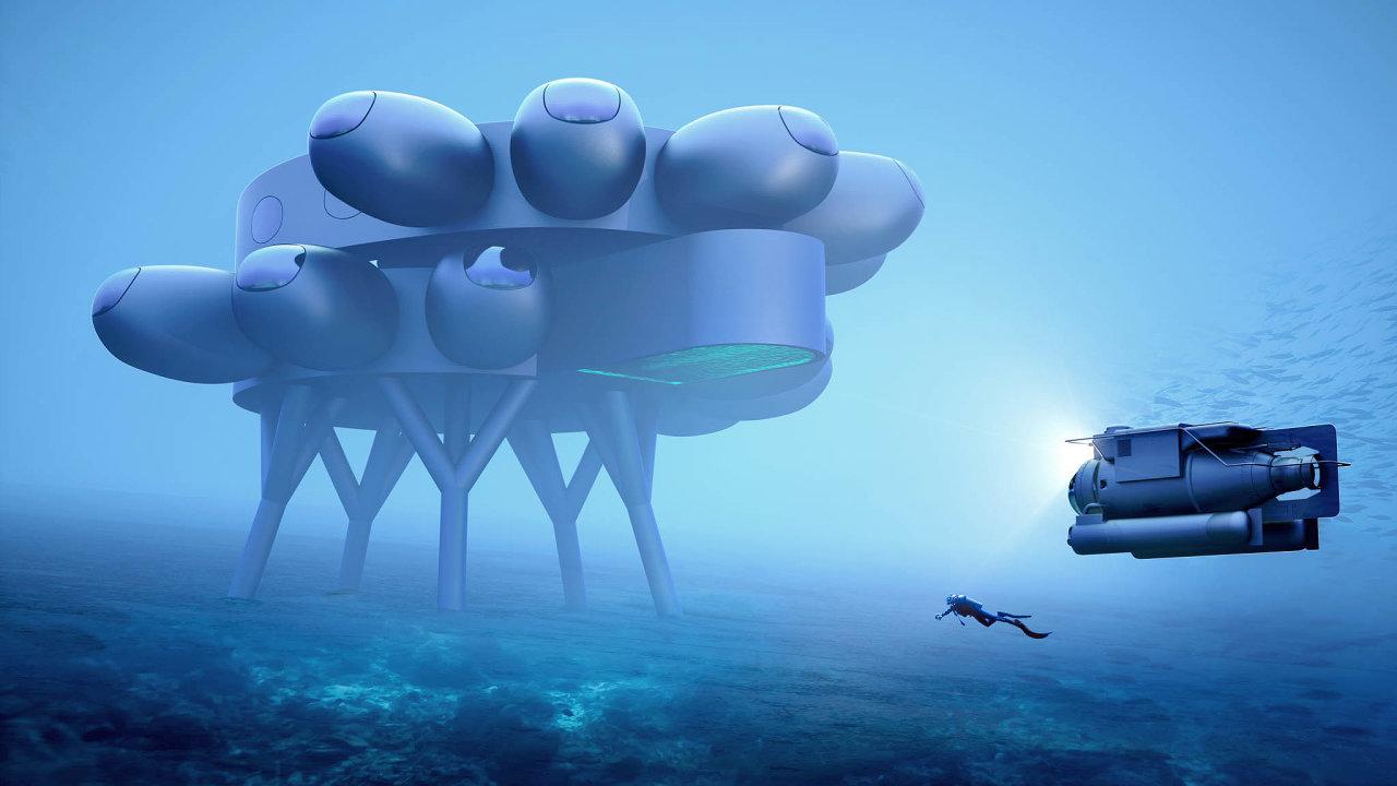 Vesmírná stanice pod vodou.Tvůrci projektu podmořské laboratoře Proteus ho významem přirovnávajíkMezinárodní vesmírné stanici ISS.