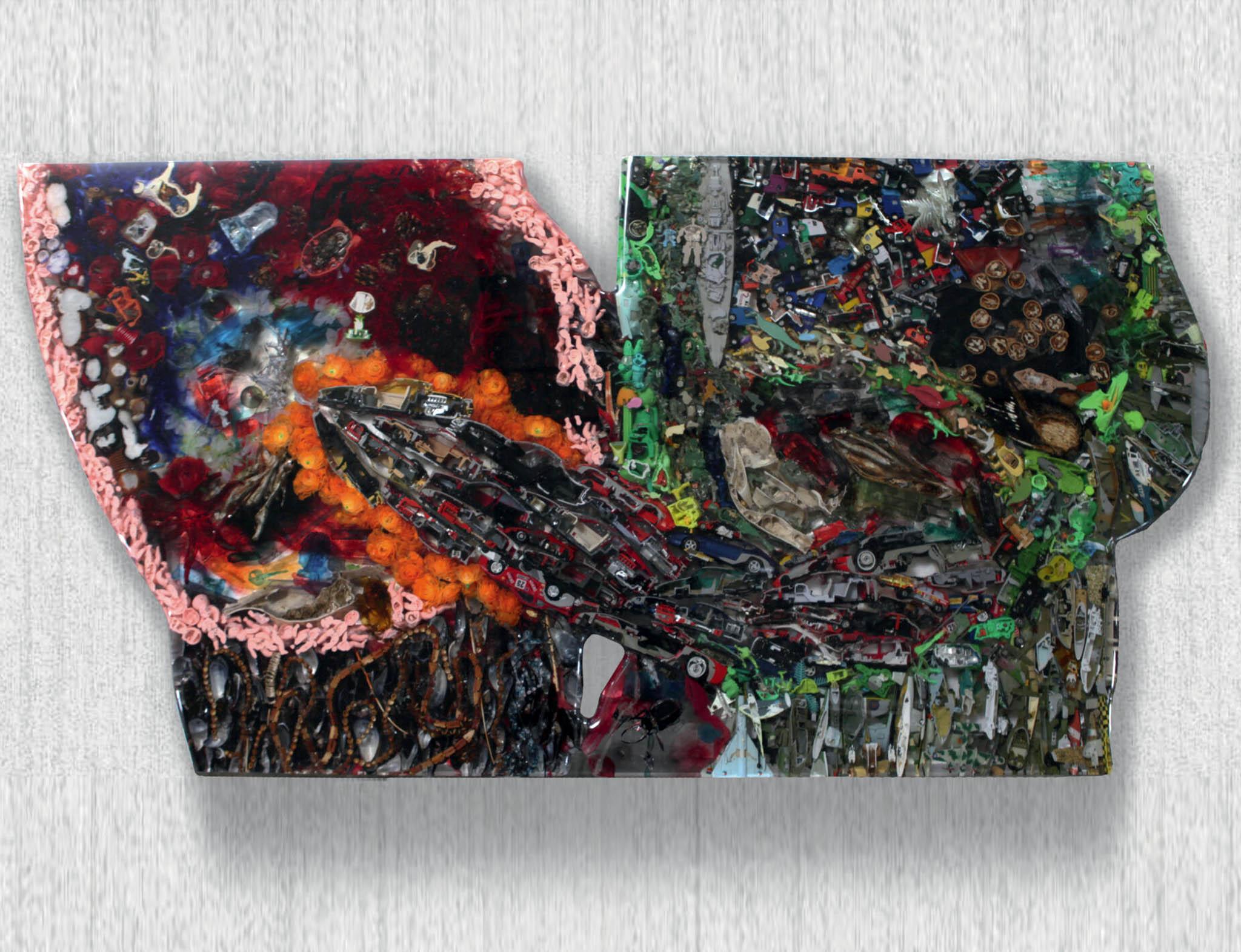 Tvůrce provokativních plastik, sochař, výtvarník, architekt arecesista David Černý uvádí čtvrtou sólo výstavu.