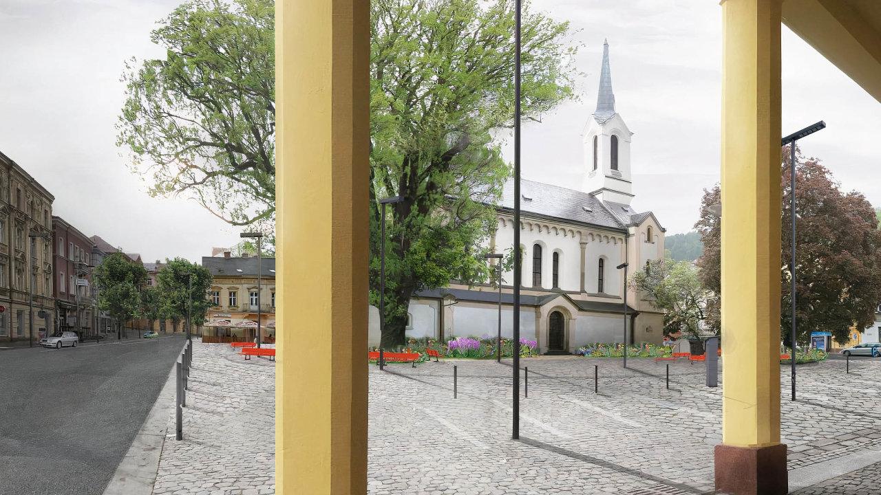 Děčín vypověděl smlouvu stavební společnosti Strabag, které se nepodařilo vestanoveném termínu dokončit proměnu historické čtvrti Podmokly nalevém břehu Labe.