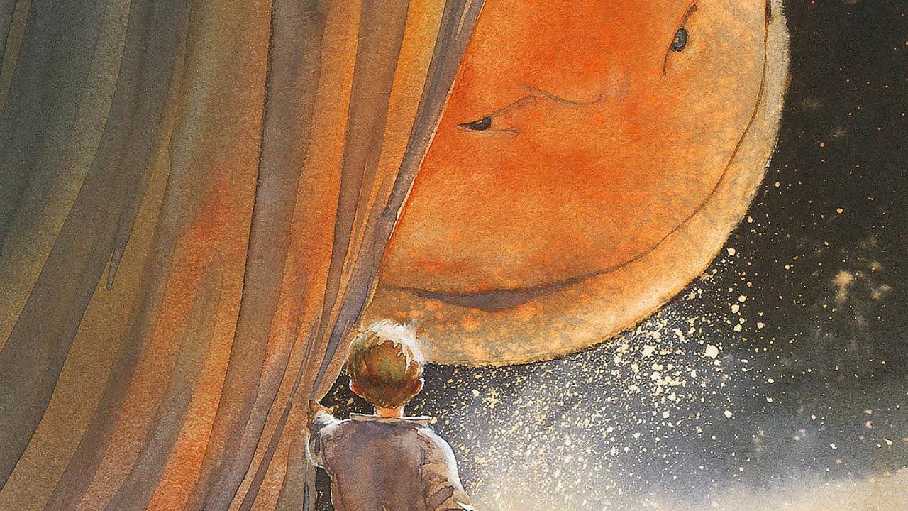 Je to zlověstný měsíc na nebi, nebo tajuplný mimozemský otec, kterého hrdina komiksu Měsíční stín nikdy nepoznal? Ve vesmíru, kam se chlapec vydává takových otázek čeká spousta.