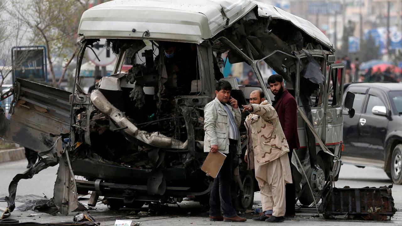 Afghánistán, bombový útok v Kábulu
