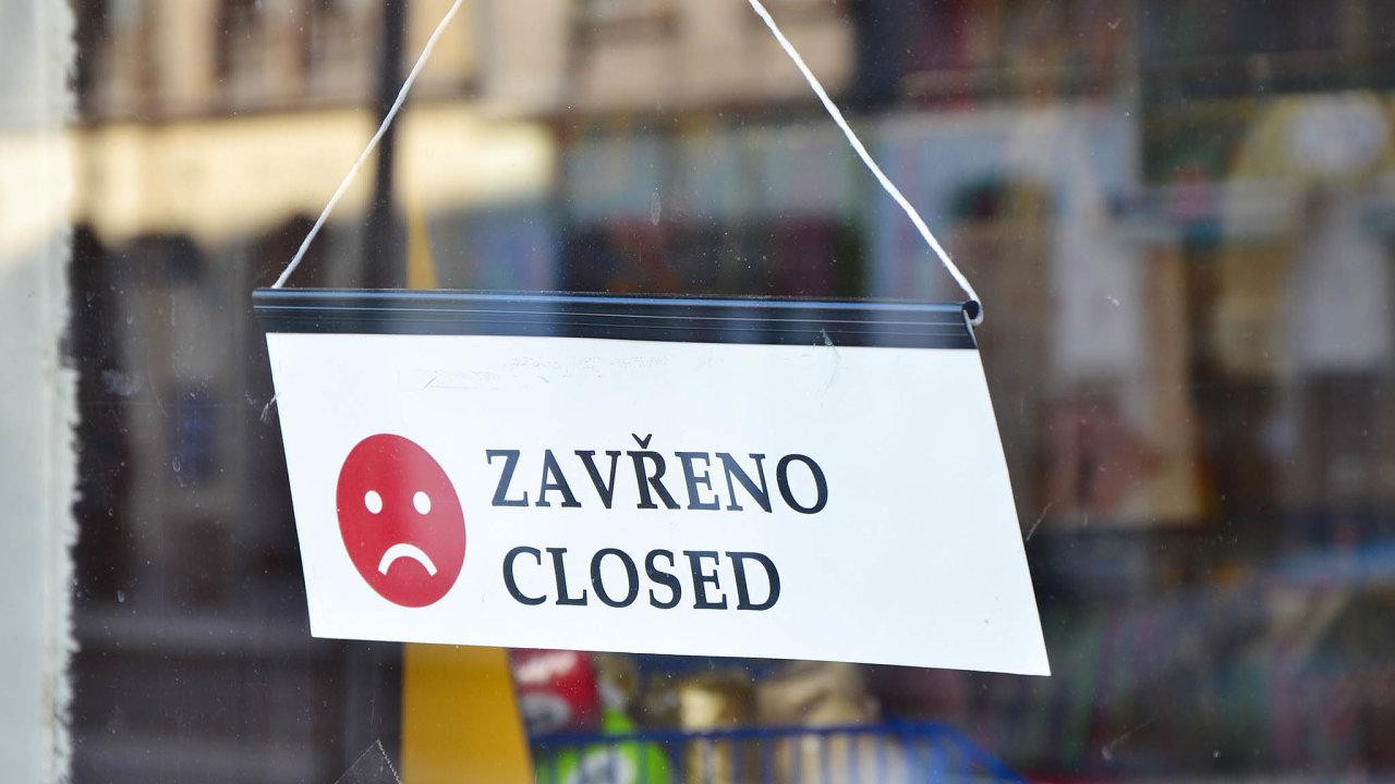 Zavřeno, obchod, ilustrace