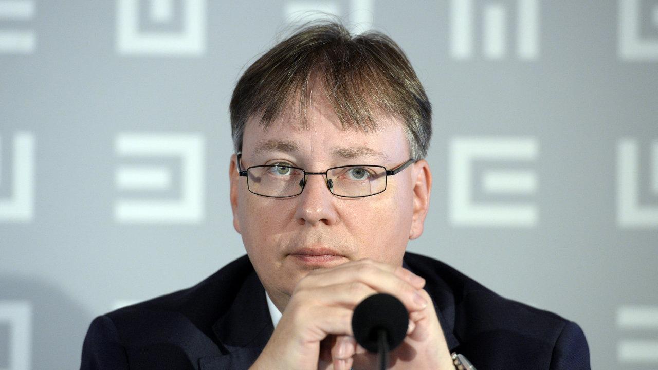 Martin Novák, finanční ředitel ČEZ.